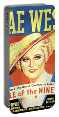 Mae West - Belle Of The Nineties Movie Lobby Promo 1934 Portable Battery Charger
