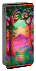 Magenta Morning Portable Battery Charger