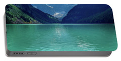 Magic At Lake Louise Portable Battery Charger