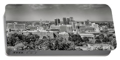 Magic City Skyline Bw Portable Battery Charger