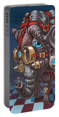 Magical Many-eyed Elephant Portable Battery Charger