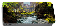 Magnificent Rural Canyons Montage Portable Battery Charger