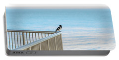 Magpie In Waiting Portable Battery Charger