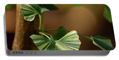 Portable Battery Charger featuring the photograph Maidenhair Tree by Dale Kincaid