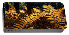 Maine Autumn Ferns Portable Battery Charger