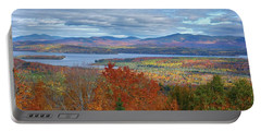 Maine Fall Colors Portable Battery Charger