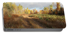 Maine Wilderness Color Portable Battery Charger