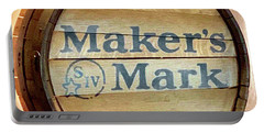 Makers Mark Barrel Portable Battery Charger
