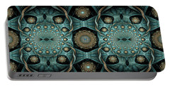 Portable Battery Charger featuring the digital art Malachi by Missy Gainer
