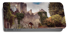 Malahide Castle By Autumn  Portable Battery Charger