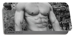 Male Torso 2 Portable Battery Charger