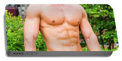 Male Torso 3 Portable Battery Charger