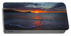 Malibu Pier Sunrise Portable Battery Charger
