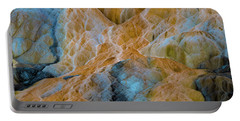 Portable Battery Charger featuring the photograph Mammoth Hot Springs by Mae Wertz