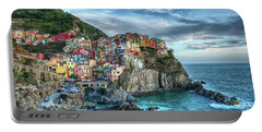 Manarola Cinque Terre Italy Portable Battery Charger