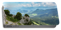 Portable Battery Charger featuring the photograph Mannlsteig, Berchtesgadener Land by Andreas Levi