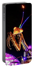 Portable Battery Charger featuring the photograph Mantis by Skip Hunt