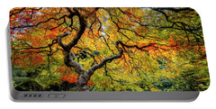 Portable Battery Charger featuring the photograph Maple Fall Color In Oregon by Michael Ash