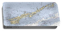 Marathon And Duck Keys Custom Noaa Nautical Chart Portable Battery Charger