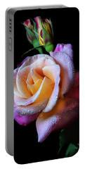 Mardi Gras Rose Portrait Portable Battery Charger