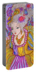 Marie Antinette Portable Battery Charger