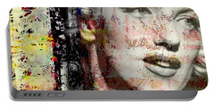 Marilyn Monroe 2 Portable Battery Charger