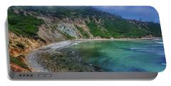 Marine Layer Over Bluff Cove Portable Battery Charger