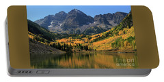 Maroon Bells In Fall Portable Battery Charger