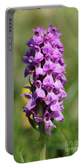 Marsh Orchid Portable Battery Charger