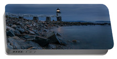 Marshall Point Just Before Dawn Portable Battery Charger