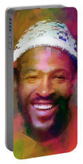 Marvin Gaye, Prince Of Soul Portable Battery Charger