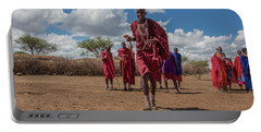 Maasai Welcome Portable Battery Charger