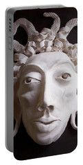 Mask The Aztec Portable Battery Charger