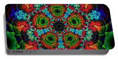 Portable Battery Charger featuring the digital art Maturality by Andrew Kotlinski