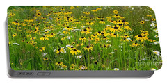 Meadow Flowers 1 Portable Battery Charger