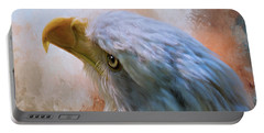 Portable Battery Charger featuring the photograph Meant To Be - Eagle Art by Jordan Blackstone