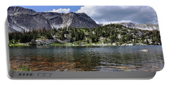Medicine Bow Peak And Mirror Lake Portable Battery Charger