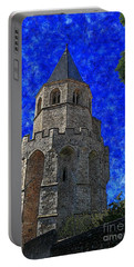 Medieval Bell Tower 4 Portable Battery Charger