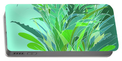 Portable Battery Charger featuring the digital art Melange by Gina Harrison