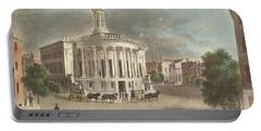 Merchants Exchange, 1838 Portable Battery Charger