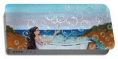 mermaid Bubble Bath Portable Battery Charger