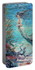 Mermaid Neighbors Portable Battery Charger