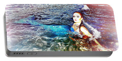 Mermaid Shores Portable Battery Charger