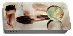 Portable Battery Charger featuring the photograph Messages From Above by Randi Grace Nilsberg