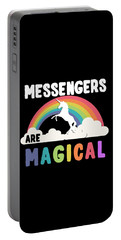 Messengers Are Magical Portable Battery Charger