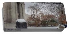 Mfa Boston Winter Landscape Portable Battery Charger