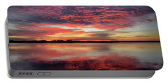 Mid October Sunset Portable Battery Charger