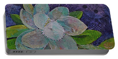 Midnight Magnolia I Portable Battery Charger