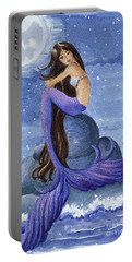 Midnight Mermaid Portable Battery Charger