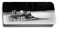 Milk Wagon Monochrome Portable Battery Charger